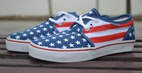 #trampki #vans #flagausa 188 PLN: Running Shoes, American Flags, Canvas Vans, Vans Flagausa, Styles, Trampki Vans, Flags Canvas, Flagausa 188, Twój Styl