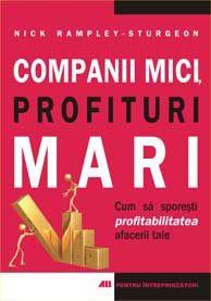 <strong>COMPANII MICI, PROFITURI MARI.</strong>