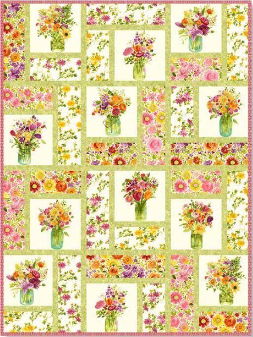 Fresh Picked by Sue Zipkin - Building Blocks - Pattern By