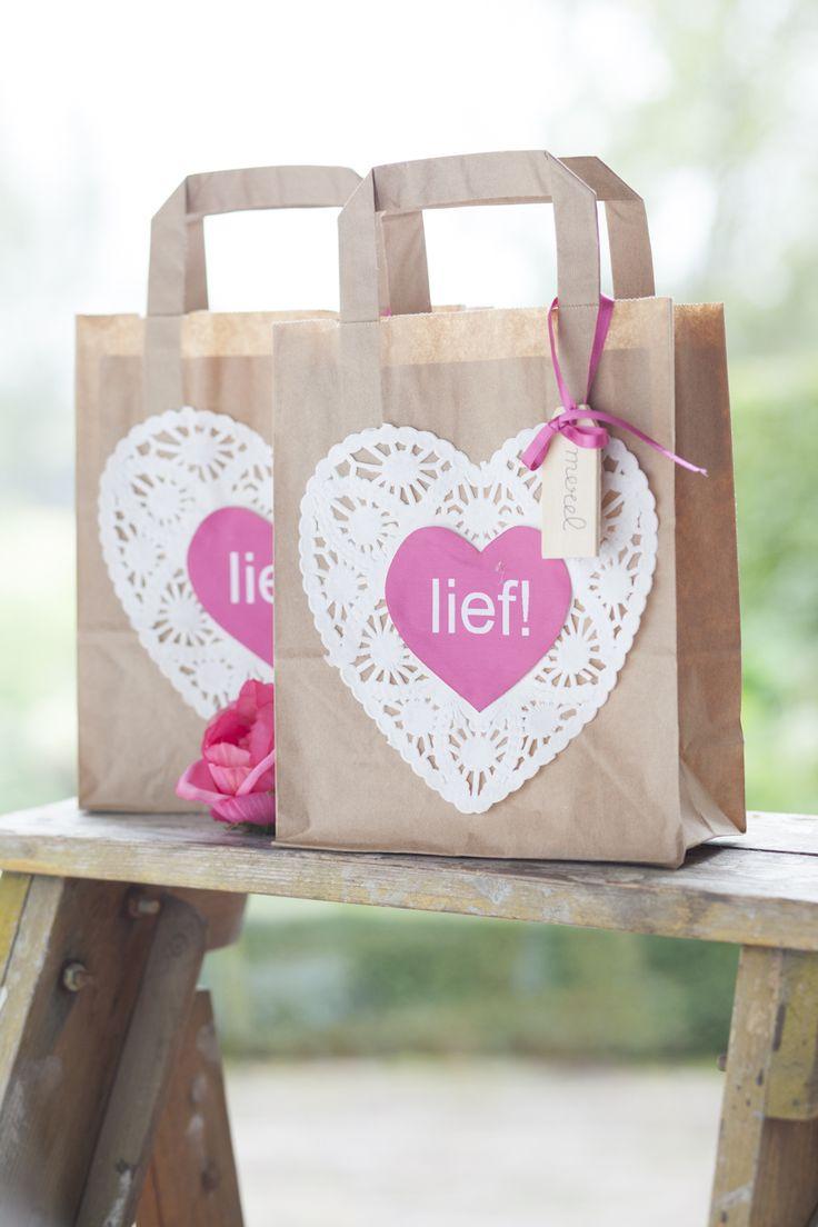 traktatie zakjes - lief! lifestyle