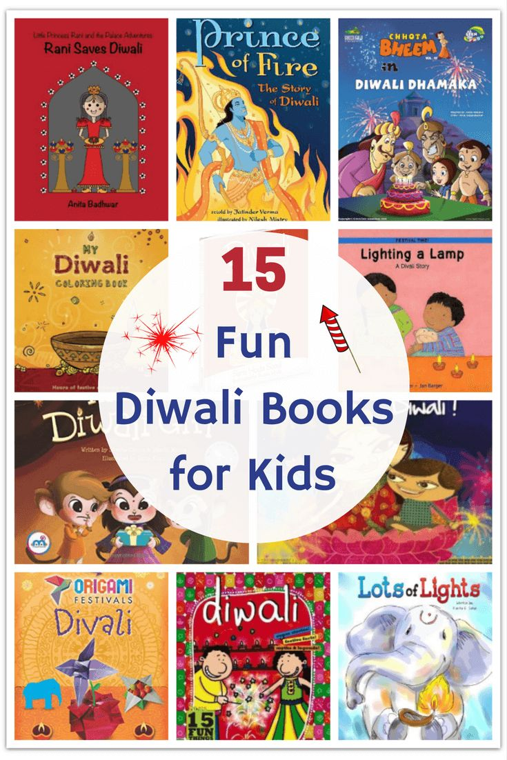 This Diwali, start a new festive tradition - in the days leading up to the festival, read   a new Diwali book from our list of top 15 Diwali books for kids!