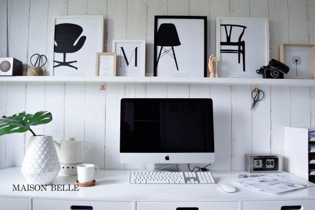 Maison Belle | Interieurblog  Werkplek inrichten  Posters van Desenio