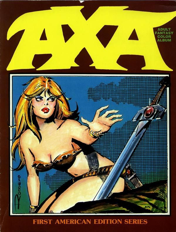 """Axa"", by Enrique Romero."