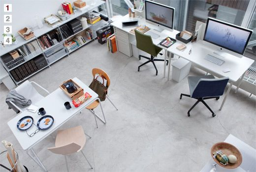 Home with stylish office |MUJI meets IDEE ふたりのはじまり|無印良品