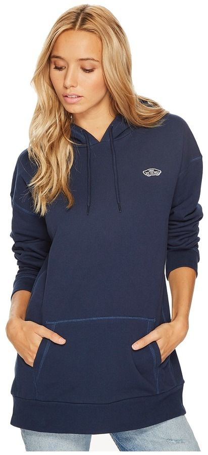 Vans Intercept Oversize Pullover Hoodie Women's Clothing