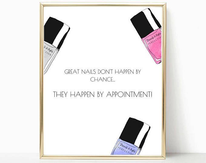 salon decor, beauty salon quote, nail wall art, salon art, nail polish, beauty salon decor, beauty quotes, nail salon decor, bedroom decor
