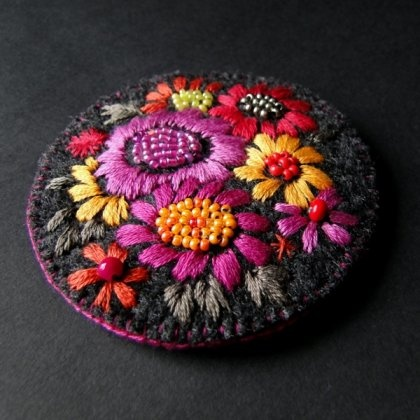 na łące (proj. agat.handmade)