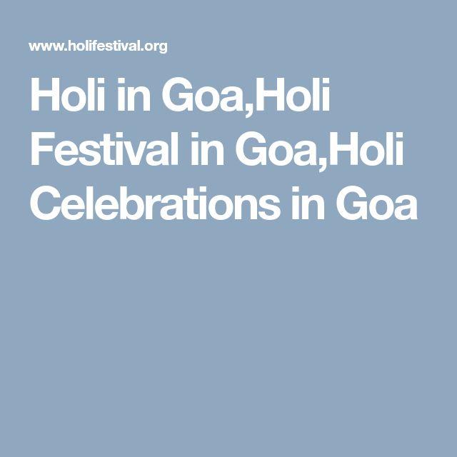 Holi in Goa,Holi Festival in Goa,Holi Celebrations in Goa