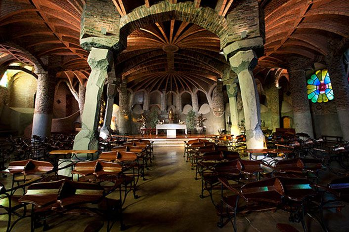 Cripta Gaudí | Colonia Güell