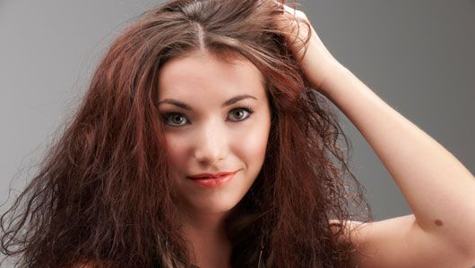 Here are five ideas for things you can use at home to help with dry hair. Most of these items are probably already in your refrigerator.