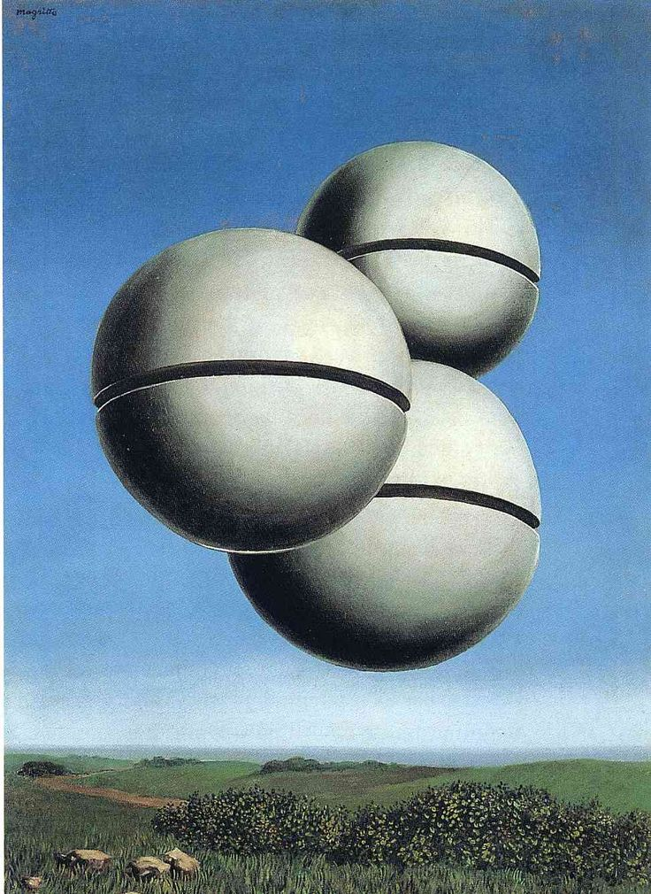 The voice of space - Rene Magritte. 1931 #surrealism: