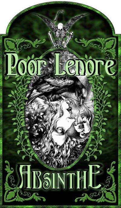 """Absinthe's Garden:  """"Poor Lenore #Absinthe,"""" by caioneach, at deviantART."""