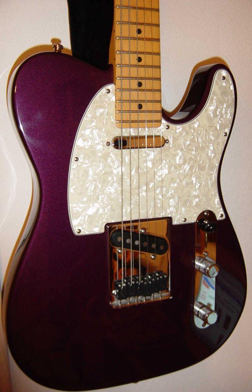 1999 Fender American Standard Telecaster Guitar In Purple