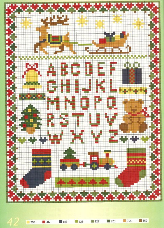 (3) Gallery.ru / Photo # 32 - modèles de couleur Burda spécial-230 pour point de croix - Orlanda
