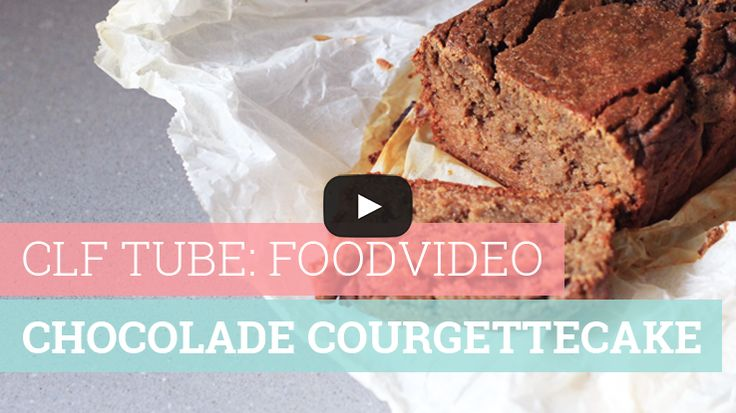 Foodvideo: Chocolade courgettecake