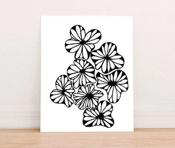 7 flowers Art | Jane's Apple