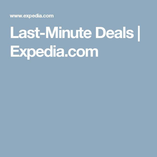 Last-Minute Deals | Expedia.com