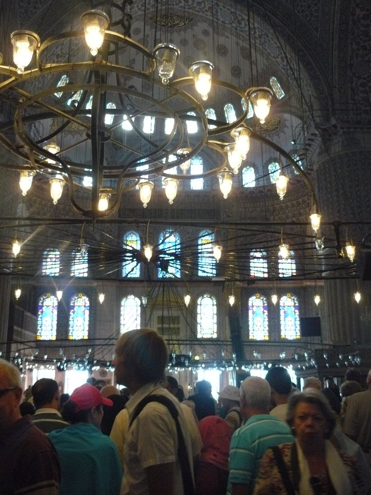 Inside the mosque-Istambul