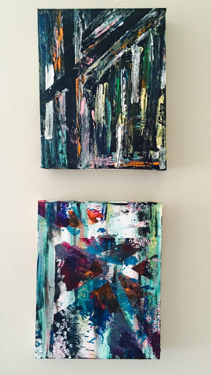 2 petites peinture créatives