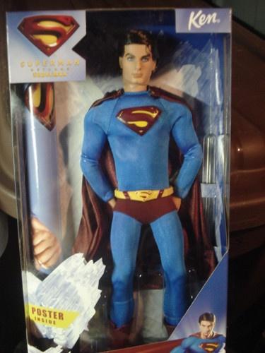 New Superman Returns Ken Barbie Doll Mint Condition 2005 Collectible | eBay