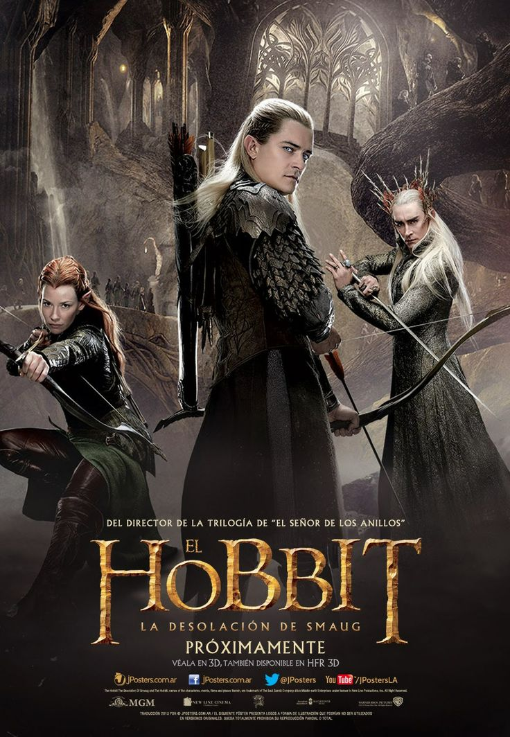 The Hobbit: The Desolation of Smaug elves poster