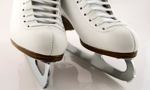 Groupon - Ice-Skating with Skate Rentals for 2, 4, or 10 at ICE at The Parks (Up…