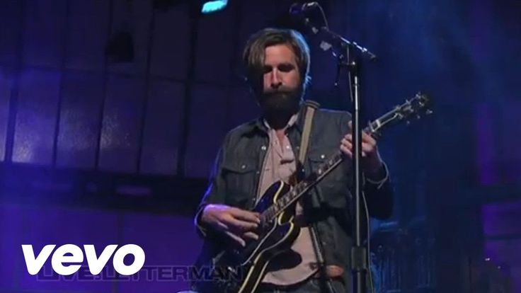 Band of Horses - No One's Gonna Love You (Live On Letterman)