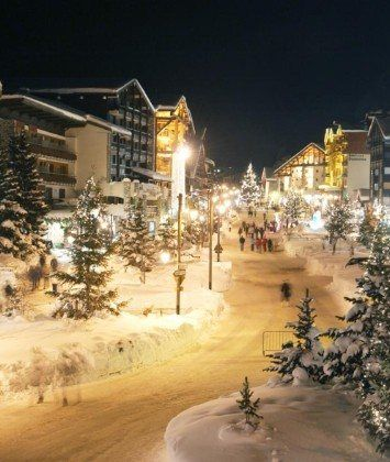 Val d'Isere in the French Alps - photo by www.vip-chalets.com