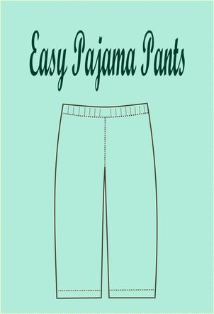 FREE SEWING PATTERN: easy pajama pattern on 03.04.2015 / in Sewing