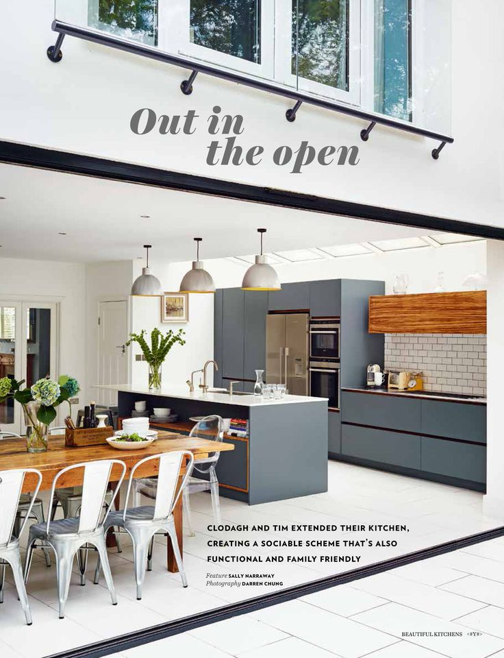 Roundhouse bespoke kitchen featured in the May 2014 issue of Beautiful Kitchens magazine