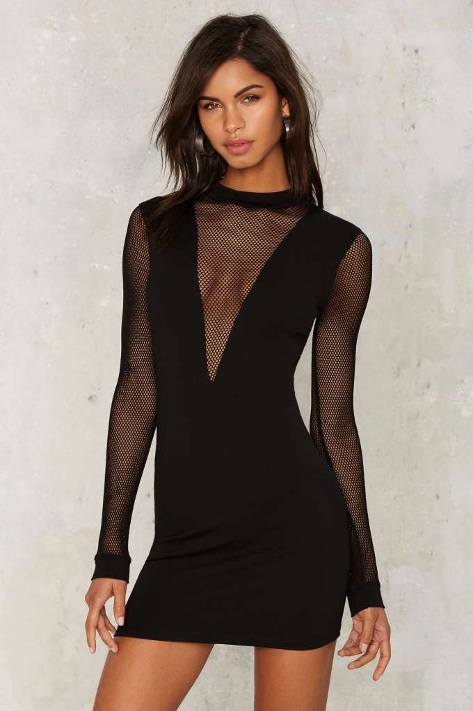 Something So Strong Mesh Dress | Shop Clothes at Nasty Gal!