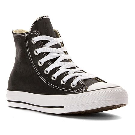 """Converse Chuck Taylor Leather High Top Sneaker - Men's"""
