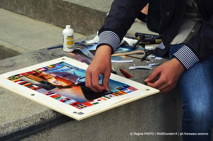"""""""MUSEOUNDER14 artecontemporanea il 20 aprile Parco Borbonico Vanvitelliano del lago Fusaro - Bacoli (NAPOLI)  #museounder14"""