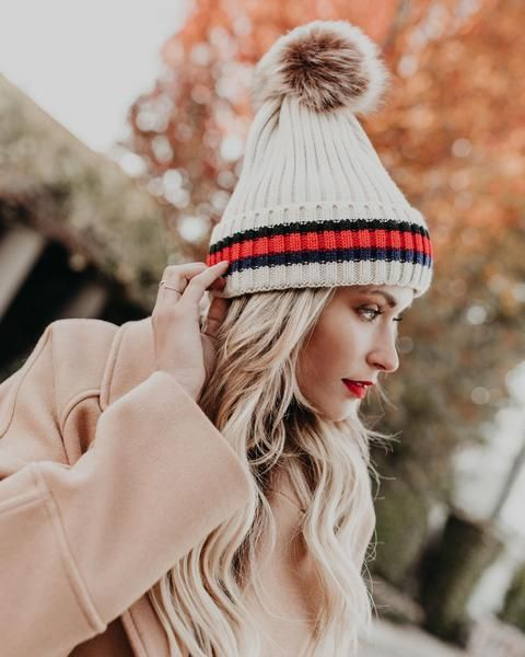 It s beanie season! Our Squaw Valley Pom Beanie is too cute for words!  Click to shop our website or follow us at  VICIDOLLS for all the latest  updates + ... 5c7d596b1e8