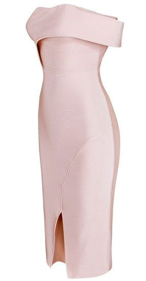 elegant, body-con fit, one shoulder strap, dress length below knee, back zipper, Occasion: Club wear, Cocktail Parties and Wedding Color -Light Pink Size - X-Small, Small, Medium, Large ( email us if