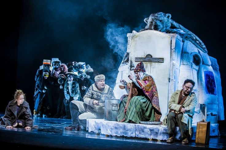 """spektakle Teatru Narodowego – """"Królowa Śniegu"""" Hansa Christiana Andersena w reżyserii Piotra Cieplaka - Spektakle - Repertuar - Teatr Narodowy"""