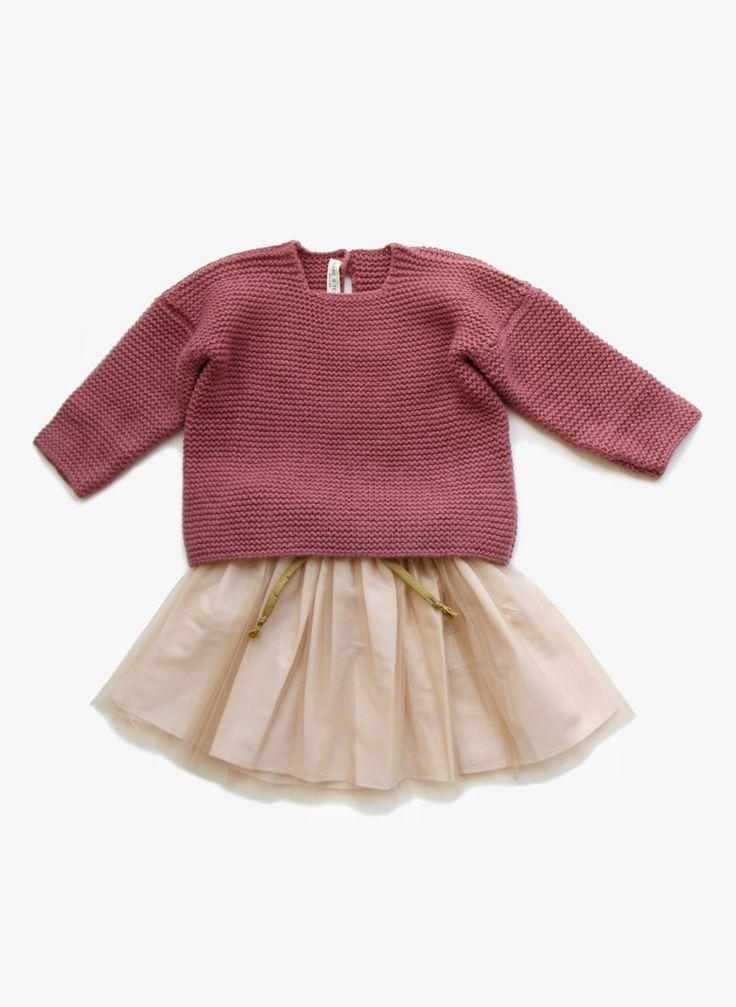 Babe Tess Girls Wool knitted Sweater
