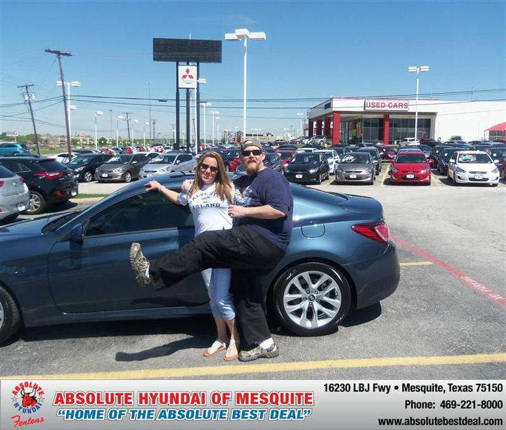 #HappyAnniversary to Devin Dowden on your 2013 #Hyundai #Genesis from Troy  Cox  at Absolute Hyundai!
