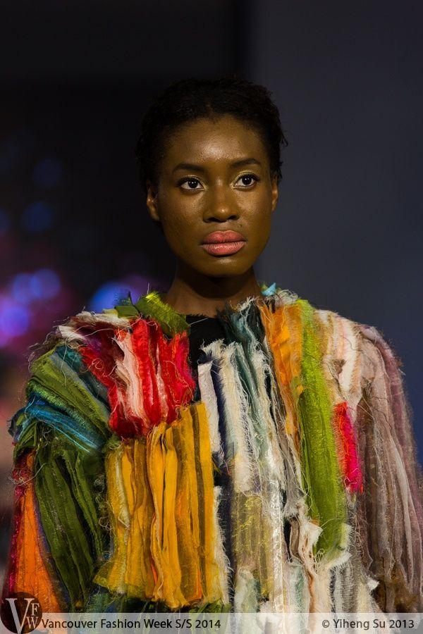 Lilla Csefalvay shows 'Vanitas' graduate collection on Vancouver Fashion Week