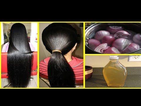 Traitement naturel pour la pousse rapide des cheveux