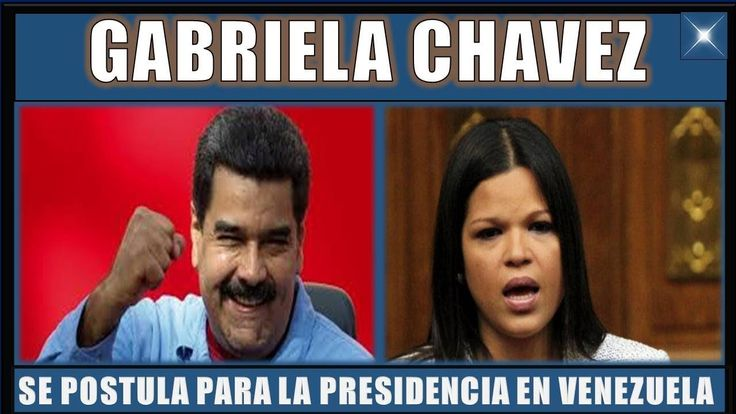 ultima hora VENEZUELA 18 DICIEMBRE 2017MARÍA GABRIELA CHAVEZ ES CANDIDATANOTICIAS VENEZUELA
