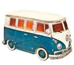 Lamp - Blue VW Kombi Van