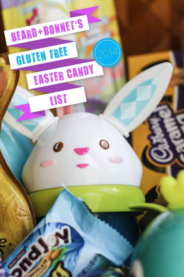 66 best gluten free easter images on pinterest gluten free beard bonnets gluten free easter candy list negle Image collections