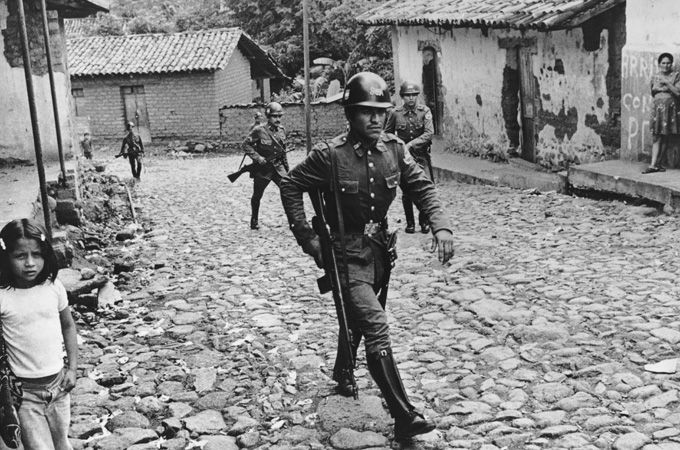 The northern regions of El Salvador were hit hardest by the country's lengthy civil war [GALLO/GETTY]
