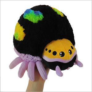 New Squishable Mini Jumping Rainbow Spider! #arachnid #cute #plush