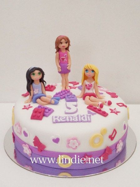 Lego friends cake | Flickr - Photo Sharing!