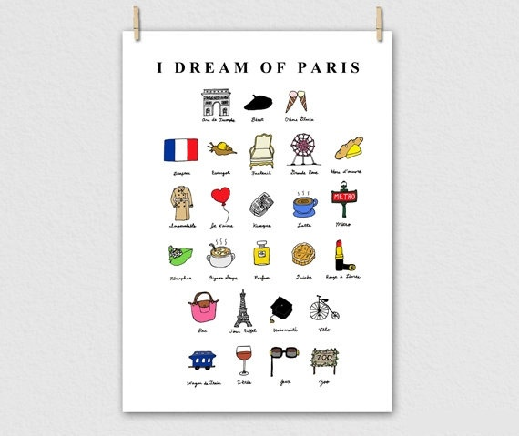 another cute French alphabet poster