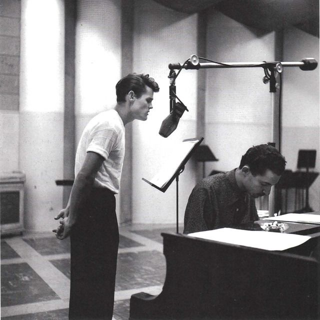 Chet Baker, 1954, photo by William Claxton