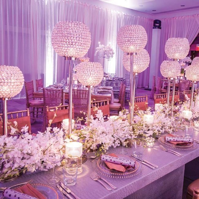 Creative Wedding Ideas For Reception: Wedding Reception Décor: Unique Centerpieces For Your Big