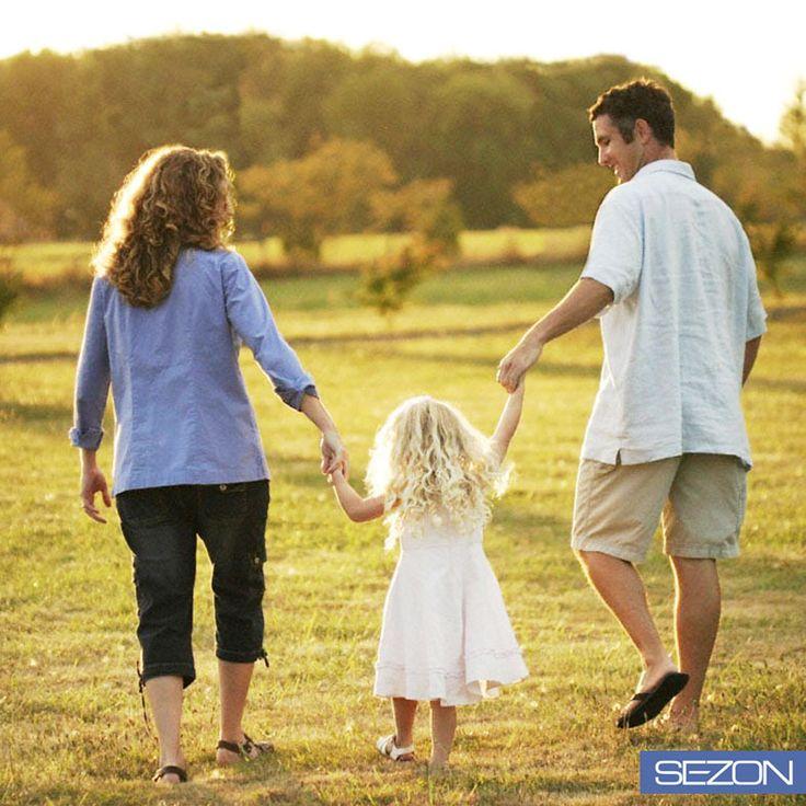 Dışarıda mis gibi bir hava var. Yediklerini öğütmek için ailenle birkaç adım yürüyüş yapmanın #TamZamanı!